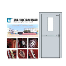 Fire Door with View Glass for Fireproof Entry