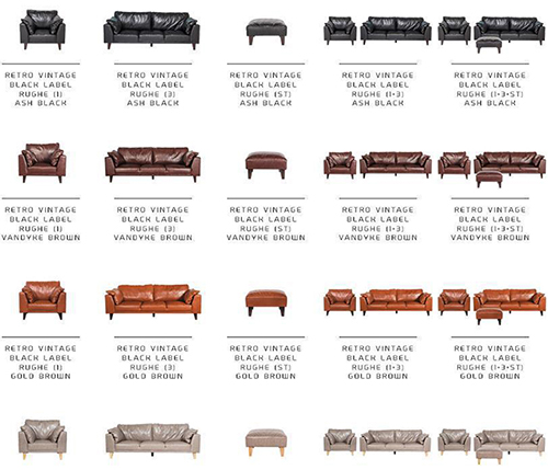 321 Seater Sectional Sofa