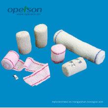Bandolera médica desechable de crepé de algodón