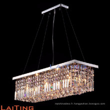 Zhongshan éclairage rectangle moderne en laiton lustre pendentif lampe 71002