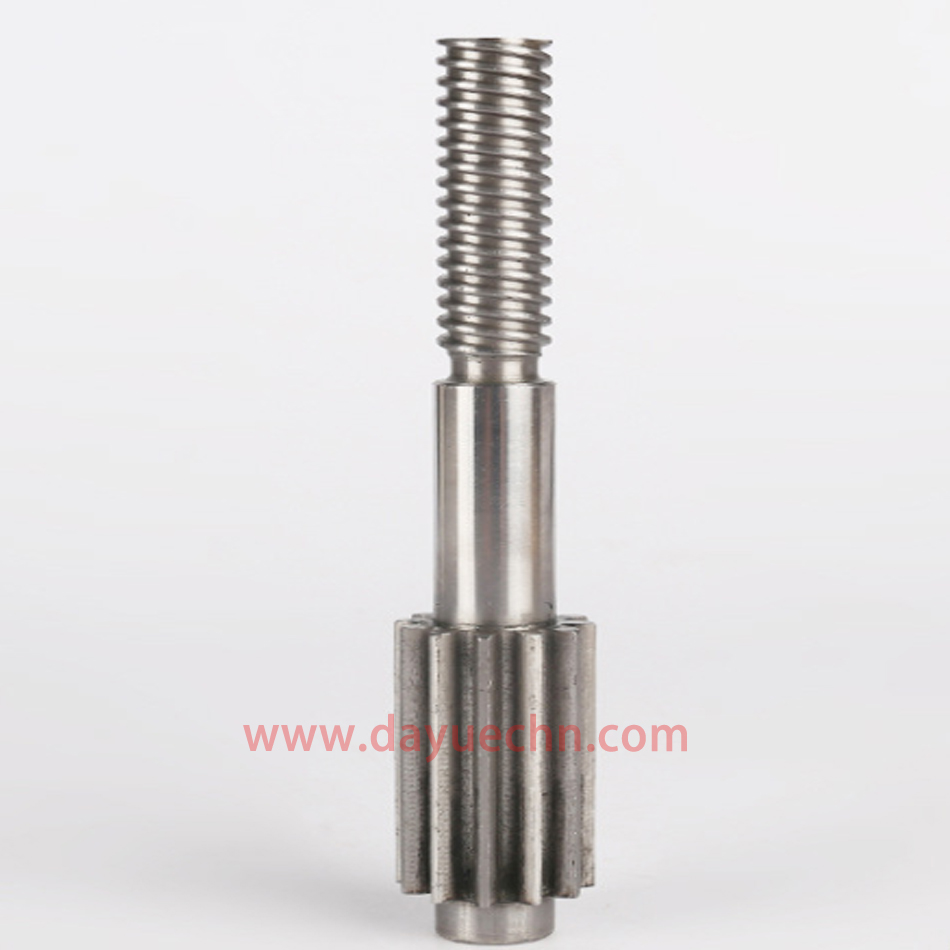 Specially Shaped Thread Grinding Gear Shaft Core Pin