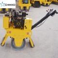 Mini rodillo de una sola rueda diesel con operador a pie