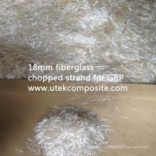 Fibre de verre en fibre de verre en fibre de verre en fibre de verre de 18 mm pour GRP
