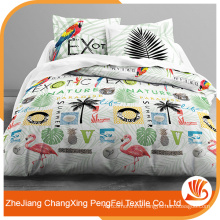 Chinese factory sell 100% disperse printed bed sheet fabric