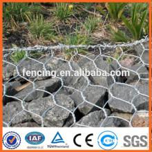 1*1*1m hot dipped galvanized hexagonal wire mesh gabion box