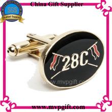 Mancuerna de metal de alta calidad con logotipo del cliente