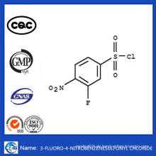 CAS 86156-93-6 China Hot Verkauf 3-Fluor-4-Nitrobenzolsulfonylchlorid