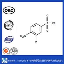 CAS 86156-93-6 China Venta caliente 3-Fluoro-4-Nitrobenzenesulfonyl Chloride