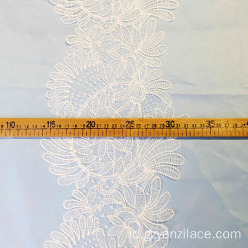 Pernikahan Vintage Lace Trim Ribbon