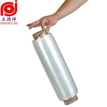 Rebobinado de alta resistencia elástico extensible de la película del estiramiento del lldpe de la película preestirada