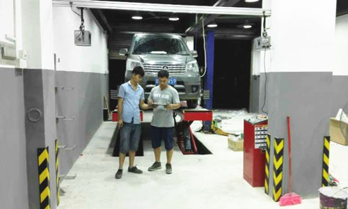 Save Space Wheel Alignment