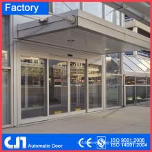 automatic airport sensor door with aluminum frame