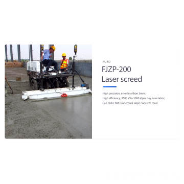 Manufacturer 2.5m Ride on Concrete Laser Screed Machine (FJZP-200)