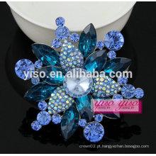 Boa qualidade moda engraçada grande broche floral