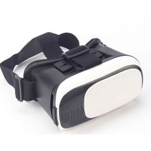 Plastic 3D Vr Virtual Reality Headset Glasses Mobile Phone 3D Movies with Head-Mounted Headband for 3.5-6.0 Inch Phone
