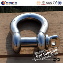 Screw Pin Anchor Shackle Stainless Steel Bow Shackle