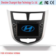 Car DVD Navigation Bluetooth Vidéo SD USB pour Hyundai Verna