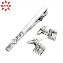 2015 New Products Elegant Enamel Men′s Tie Clip Cufflink Set (XY-MXL73008)