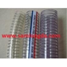 Mangueira de aço inoxidável de PVC / Mangueira de água / mangueira industrial / mangueira de PVC
