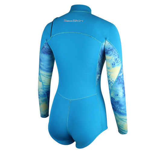 Traje húmedo de surf Seaskin de 2 mm para mujer, flexible