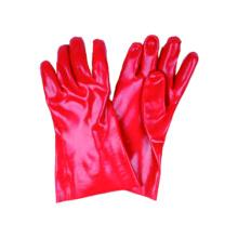 Interlock Liner Work Glove with PVC Dipped, Gauntlet Cuff