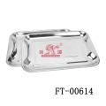 50 * 35 см нержавеющая сталь питания поднос (FT-00614)