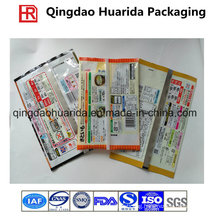 Plastic Laminate Customized Back Sealed Seafood Packaging Pouch
