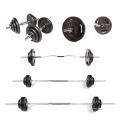 Fitness Body Building Equipment Weight Lifting Standard Barbell Bar And Plate Bilanciere Barbell Bar