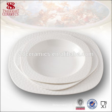 new bone china nice design tableware deep soup bowl