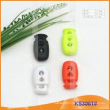 Bouchon de cordon en nylon ou bascule pour vêtements, sacs à main et chaussures KS3061 #