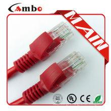 China Manufacturing patch cord cat6 utp Unshielded RJ45 8P8C Modular Plug