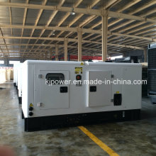 Gerador de diesel elétrico silencioso de 100kVA Powered by Cummins Engine