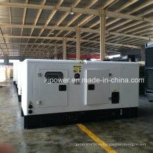 Электродвигатель дизельного генератора мощностью 100 кВА, работающий от двигателя Cummins