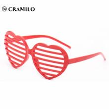 custom heart shape novelty party glasses for sale