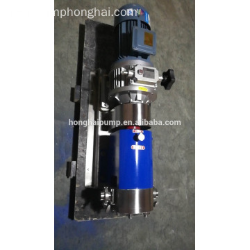 3RP stainless fruit juice rotary lobe pumps