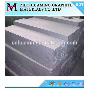 bloque de carbón de alta pureza y alta densidad para la venta