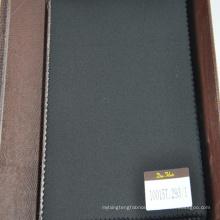black 100 percent suit fabric in plain design