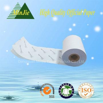 Tipo de papel impreso impreso Carbonless Roll de papel