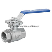 ISO 5211 Two Piece Ball Valve