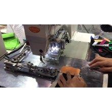 Máquina automática para hacer sujetadores de coser en zigzag