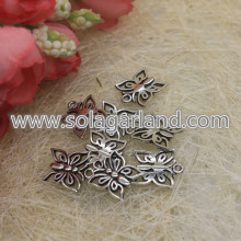15*12MM Antique Tibetan Silver Butterfly Pendants Charms
