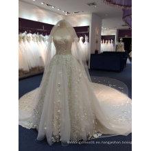 Aolanes Diseño Propio Vestido de boda magnífico de la princesa