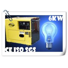 ¡Alta calidad! Generador diesel de 5.5kw Protable