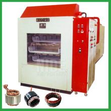 Automatic stator varnish trickling machine