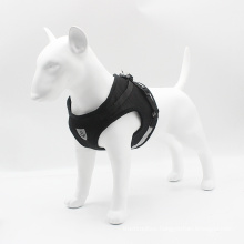 Cross-border dog reflective and breathable vest-style chest harness set traction rope dog supplies
