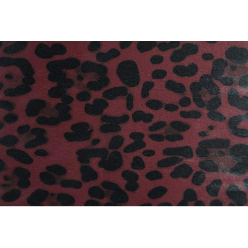 Leopard Print Pu Leather