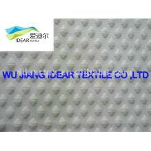 poly cotton Grid jacquard Fabric for Taekwondo