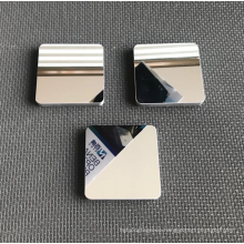 Metal mirror serving tray