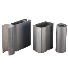 Perfil de esquina de pared de cortina de aluminio