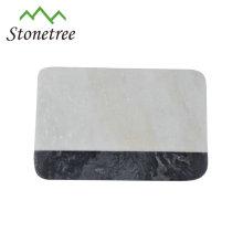 Käse Schneidebrett Platte rechteckigen schwarzen Granit Schneidebrett